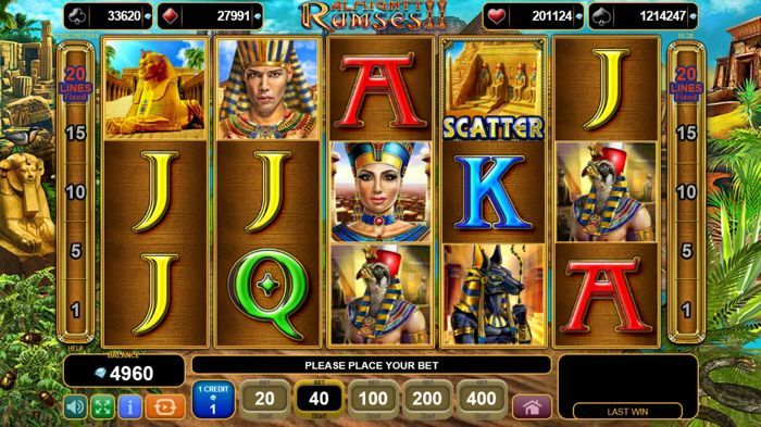 игровой автомат almighty ramses играть бесплатно