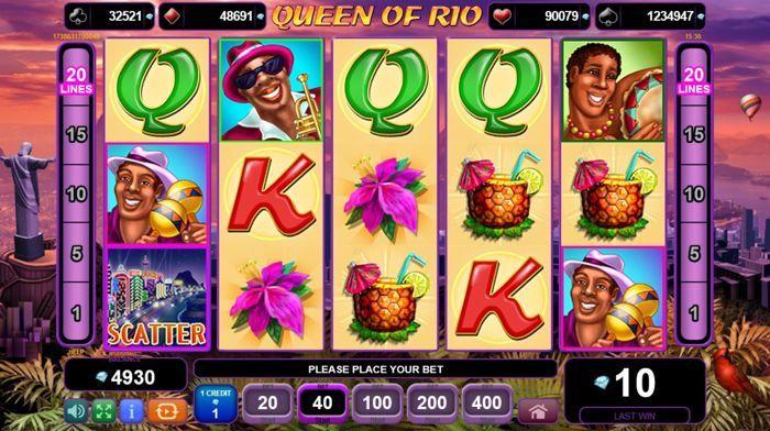 игровой автомат queen of rio egt играть бесплатно на реальные деньги