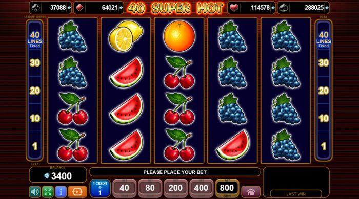 Игровой автомат 40 super hot egt играть онлайн бесплатно